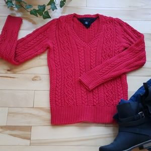Tommy Hilfiger - cable knit sweater